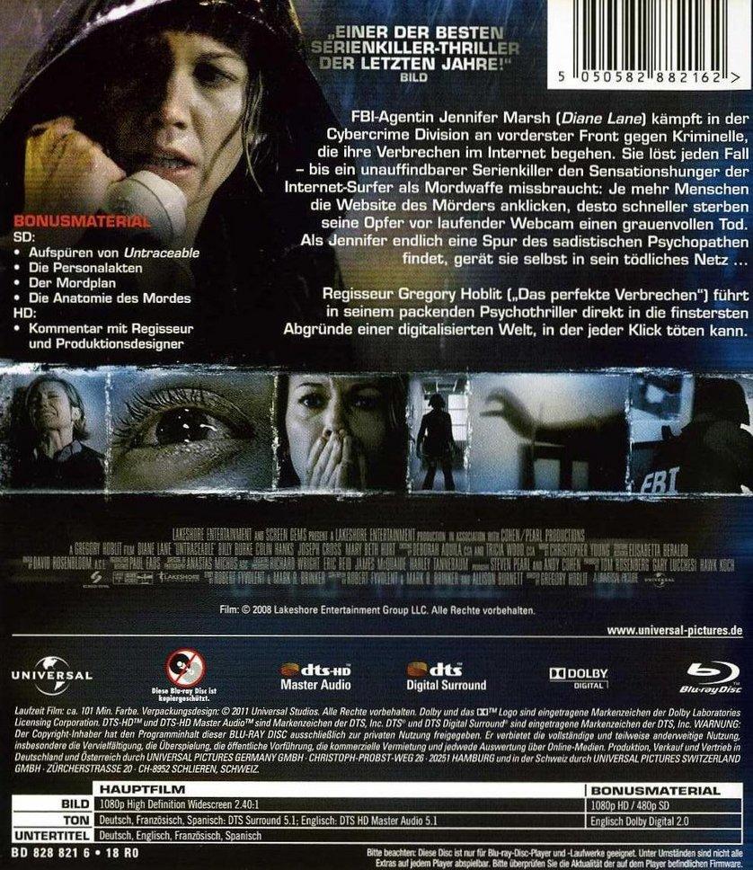 Untraceable: DVD oder Blu-ray leihen - VIDEOBUSTER.de