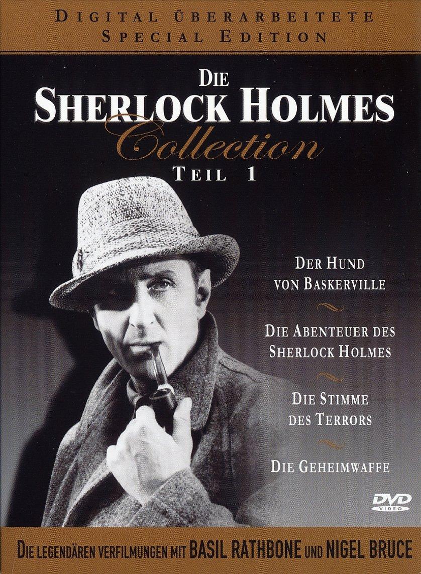 sherlock holmes collection 1 der hund von baskerville dvd oder blu ray leihen. Black Bedroom Furniture Sets. Home Design Ideas