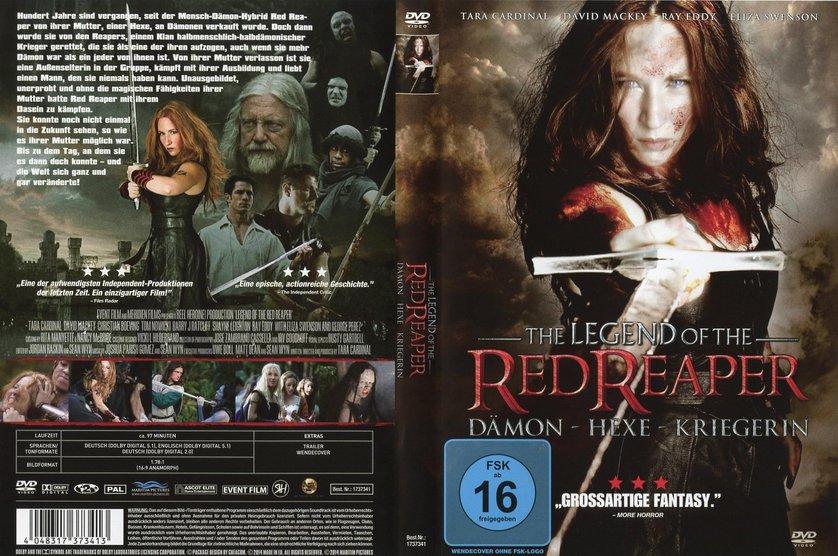 The legend of the red reaper - dämon hexe kriegerin
