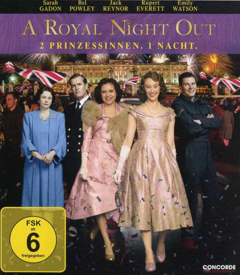 a royal night out deutsch