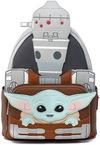 Star Wars The Mandalorian - Loungefly - Grogu und IG-11 powered by EMP (Mini-Rucksack)