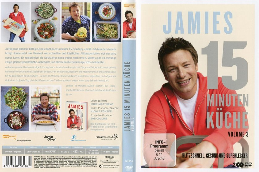 jamies 15 minuten küche - volume 3: dvd oder blu-ray leihen