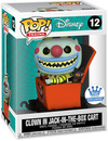 The Nightmare Before Christmas Pop! Train - Clown in Jack-in-the-Box Cart (Funko Shop Europe) Vinyl Figur 12 powered by EMP (Funko Pop!)