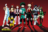 My Hero Academia Line Up powered by EMP (Poster)