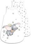 Dumbo Dumbo Baby Schlafsack (90 x 45 cm) Baby-Schlafsäcke weiß grau powered by EMP (Baby-Schlafsäcke)