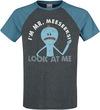 Rick And Morty Mr. Meeseeks T-Shirt schwarz blau powered by EMP (T-Shirt)