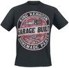 King Kerosin Garage Built powered by EMP (T-Shirt)