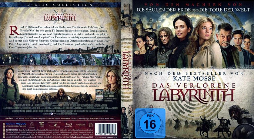 Das Verlorene Labyrinth Trailer