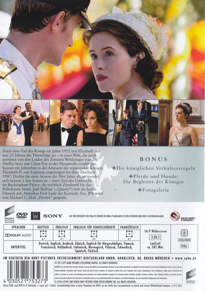 The Crown Staffel 2 Dvd Oder Blu Ray Leihen Videobuster De