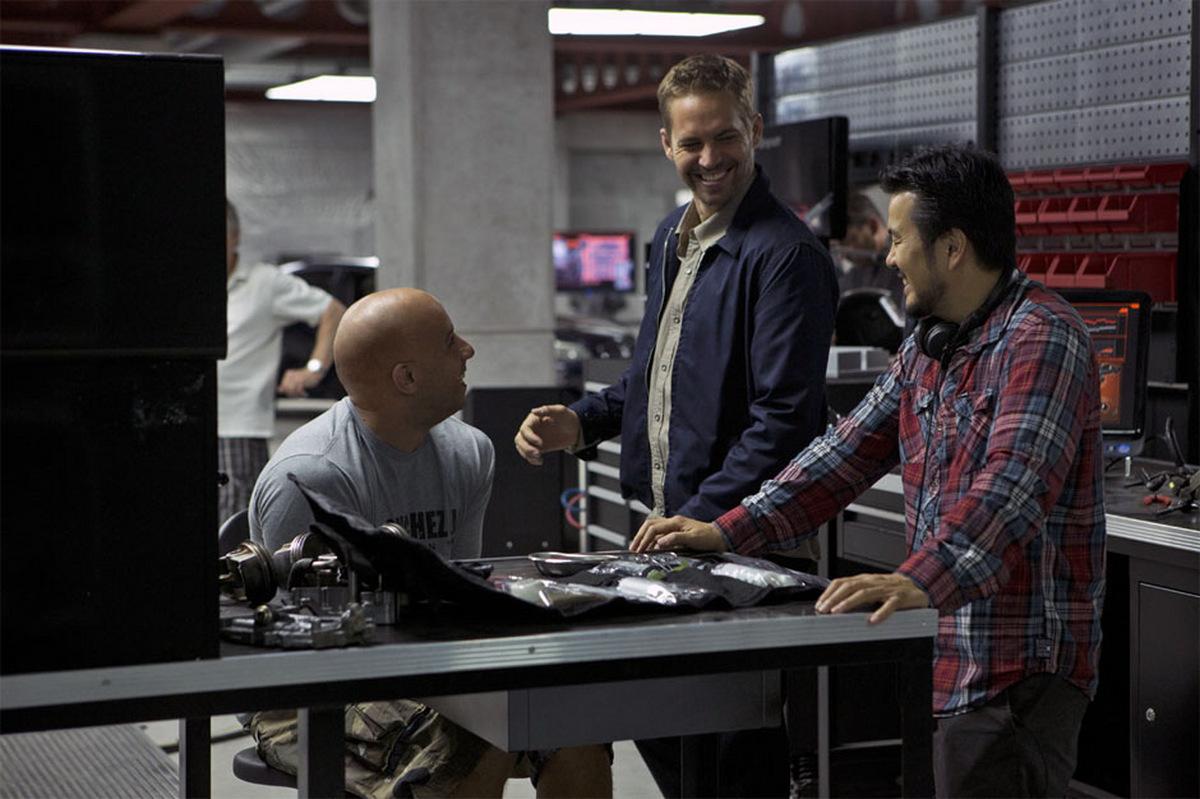 Vin Diesel, Paul Walker und Justin Lin beim Dreh zu  'Fast & Furious 6' © Concorde 2013