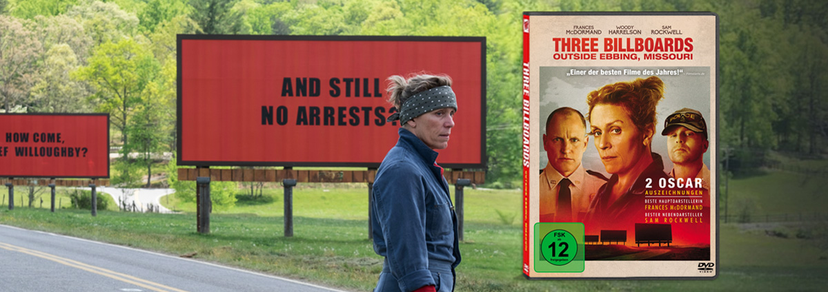 Three Billboards Outside Ebbing: Das oscarprämierte schwarzhumorige Drama