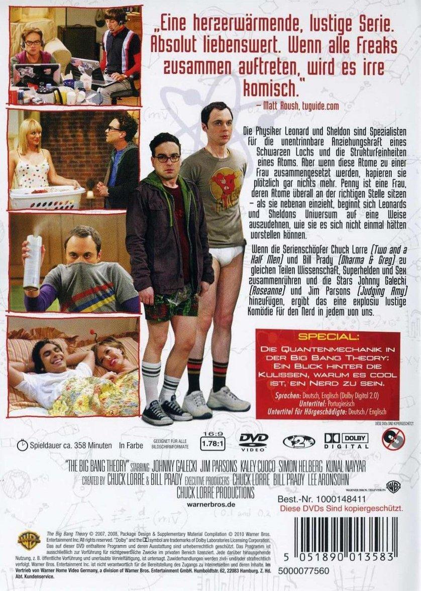 Big Bang Theory Staffel 1
