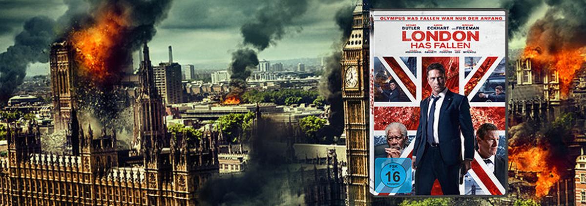 London Has Fallen: Butler sorgt für bombastische Action