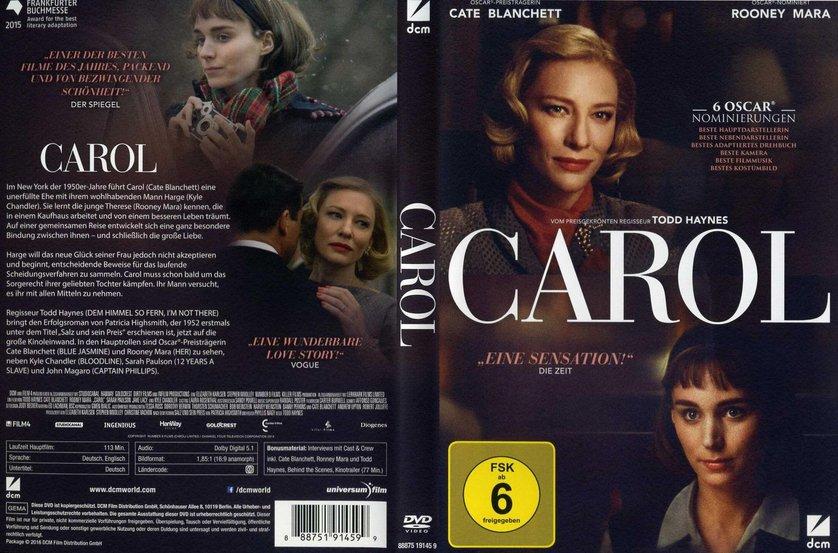 Bewertung Film Carol Mit Cate Blanchett
