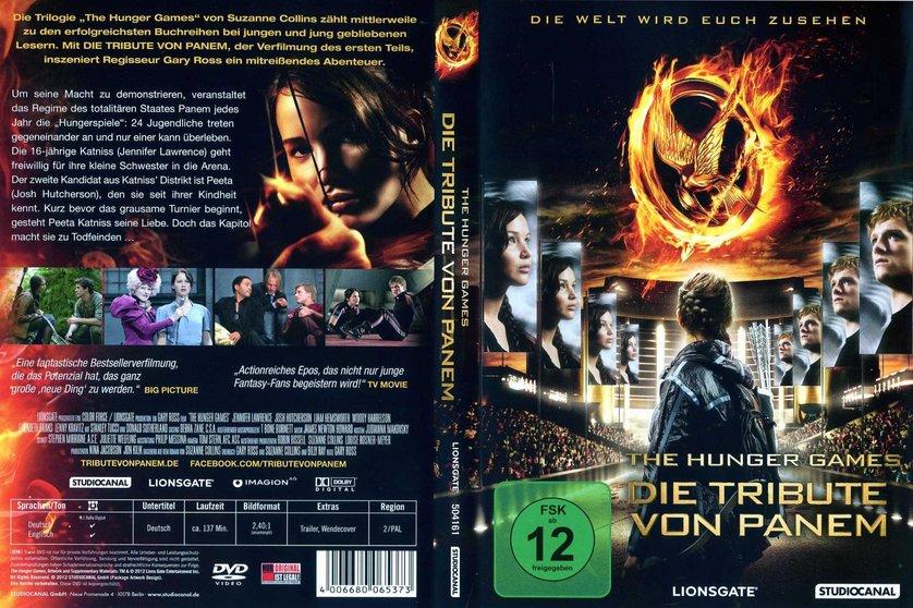 Die tribute von panem 1 t dliche spiele dvd oder blu for Die tribute von panem film