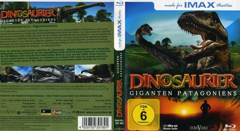Imax dinosaurier dvd oder blu ray leihen for 3d film archive