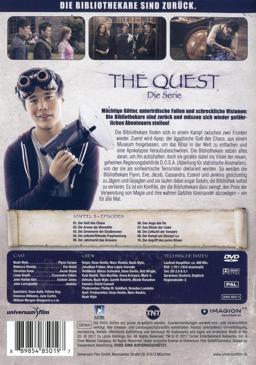The Quest Die Serie Staffel 3 Dvd Oder Blu Ray Leihen