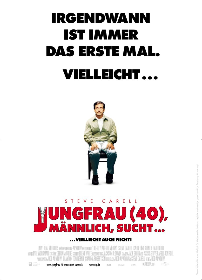 Jungfrau (40), männlich, sucht: DVD oder Blu-ray leihen