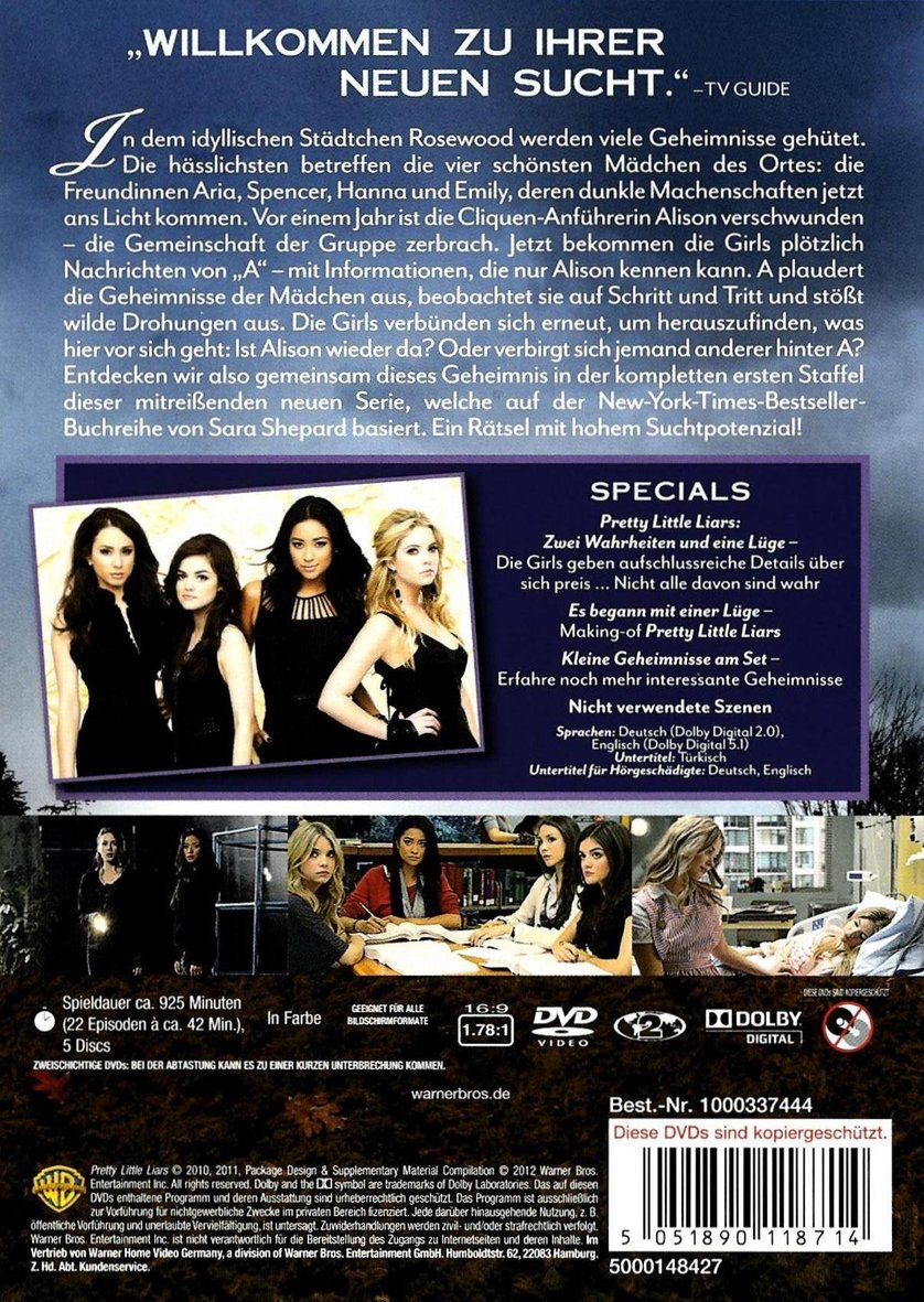 pretty little liars staffel 1 online anschauen deutsch