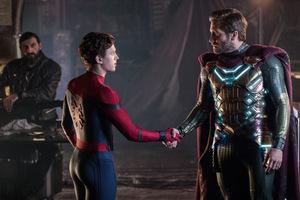 Gratulation... an Peter Parker alias 'Spider-Man' (Thomas Stanley Holland) und Quentin Beck aka 'Mysterio' (Jake Gyllenhaal) © Marvel