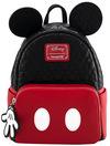 Micky Maus Loungefly - Oh Boy Mini-Rucksack schwarz rot weiß powered by EMP (Mini-Rucksack)