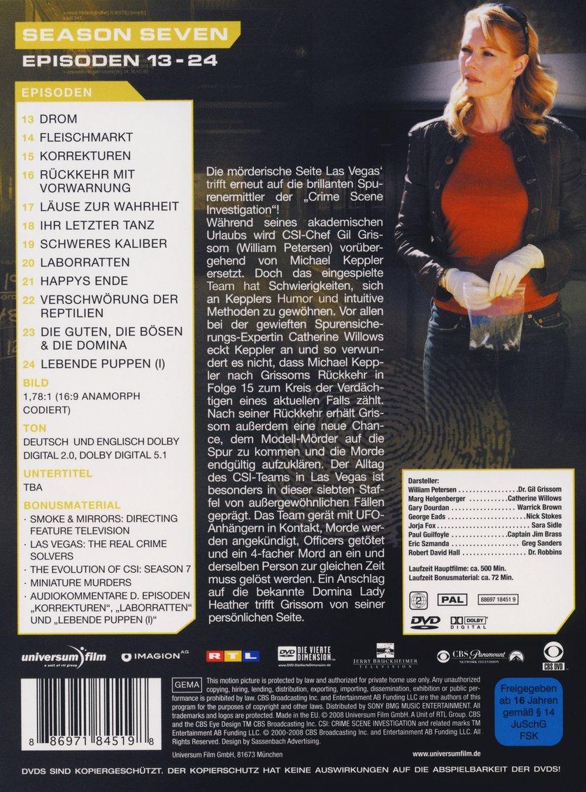 Staffel 7: DVD Oder Blu-ray Leihen