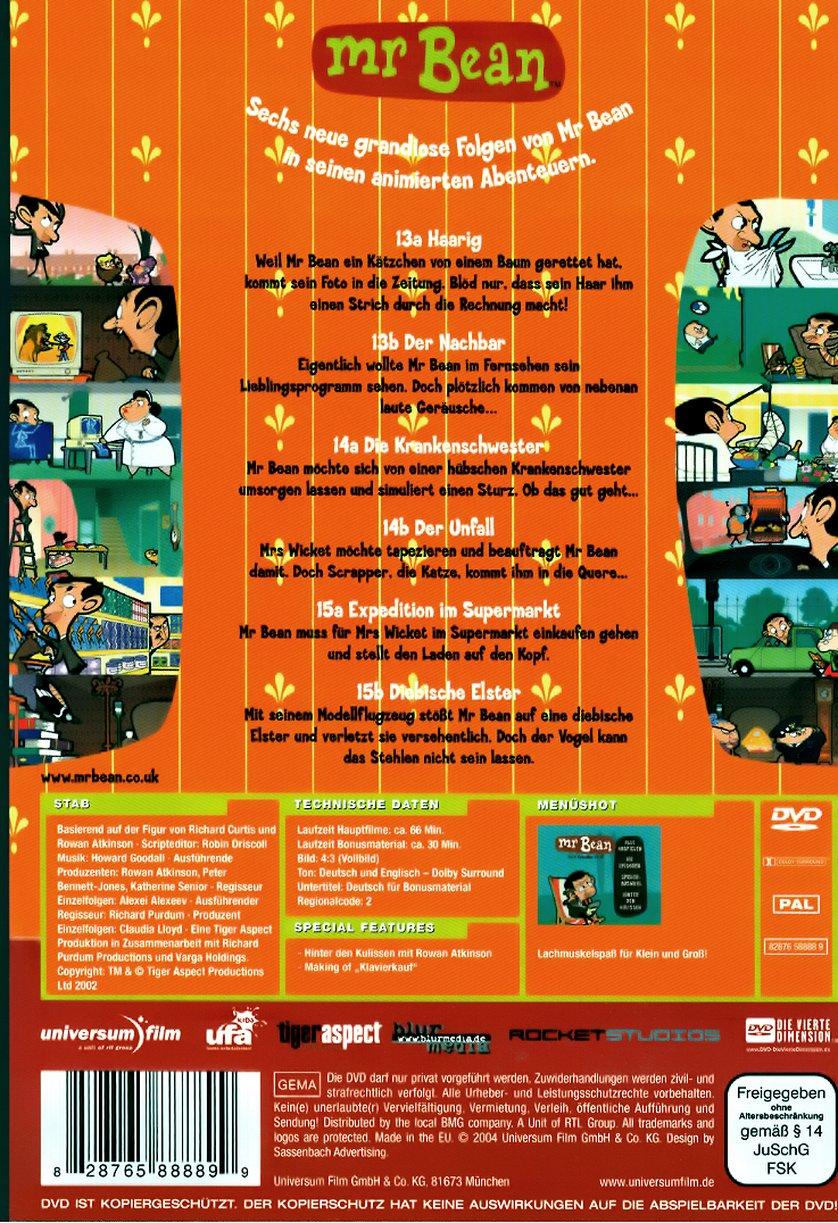 Mr Bean Die Cartoon Serie