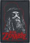 Rob Zombie Spookshow Patch schwarz rot weiß powered by EMP (Patch)