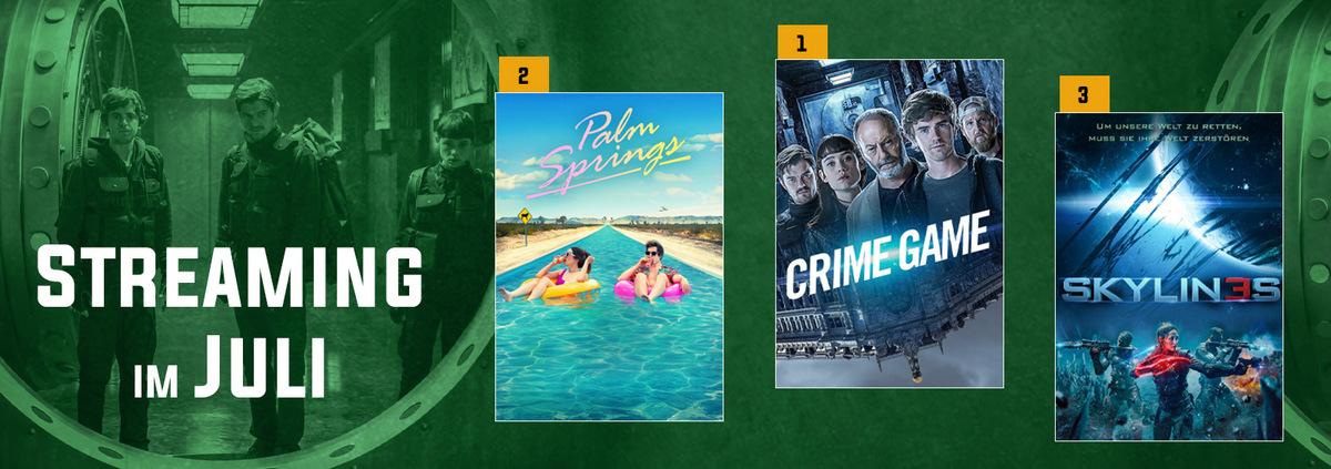 Stream-Charts 07-2021: Neue Nr. 1 im Stream: CRIME GAME löst CRISIS ab!