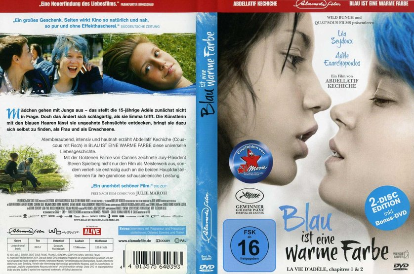 Blau Ist Eine Warme Farbe Dvd Blu Ray Oder Vod Leihen Videobusterde