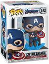 Avengers Endgame - Captain America Vinyl Figur 573 powered by EMP (Funko Pop!)