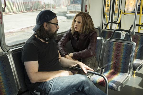 Jennifer Garner & Regisseur Pierre Morel © Universum Film