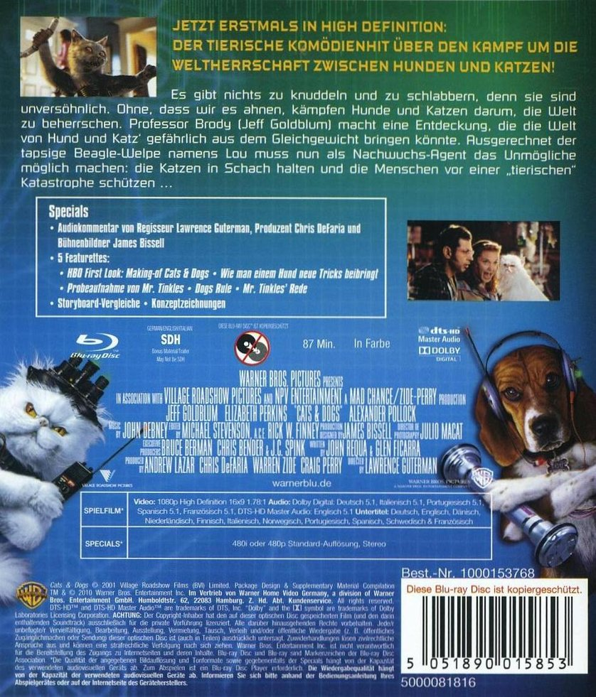 Myron Natwick Cats And Dogs