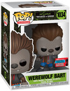 Die Simpsons NYCC 2020 Werewolf Bart Vinyl Figur 1034 powered by EMP (Funko Pop!)