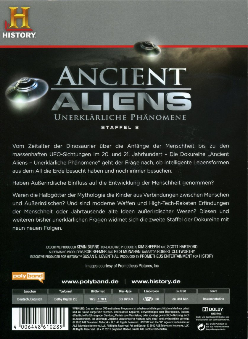 Ancient Aliens Staffel 9 Stream