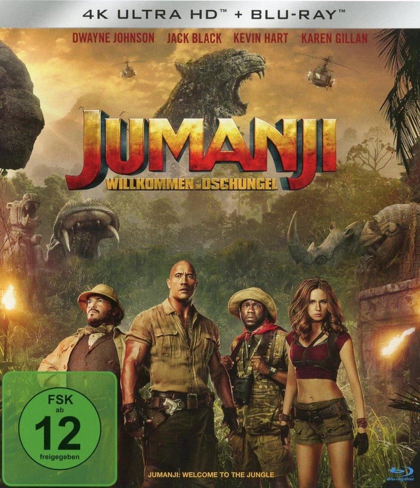 Jumanji   Willkommen im Dschungel DVD oder Blu ray leihen ...
