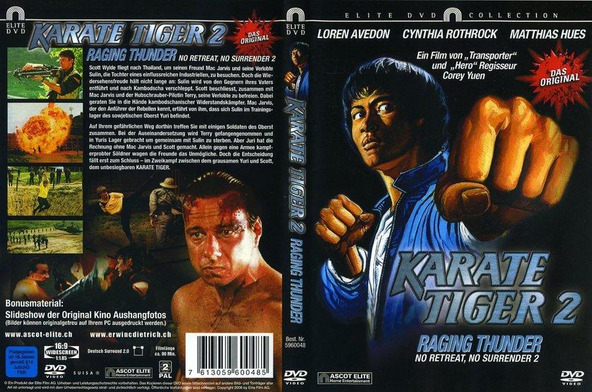karate tiger 2 dvd oder blu ray leihen. Black Bedroom Furniture Sets. Home Design Ideas