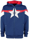 Captain America Tech Hoodie powered by EMP
