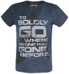 Star Trek - The Next Generation To Boldy Go Where No One Hase Gone Before powered by EMP (T-Shirt)
