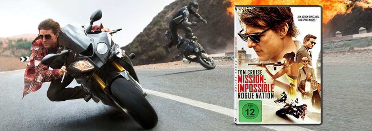 Mission Impossible 5: Ethan Hunt ist zurück! M:I 5 - Rogue Nation