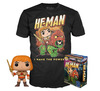 Masters Of The Universe He-Man - He-Man (Glow In The Dark) - POP! & Tee powered by EMP (Funko Pop!)