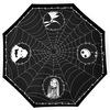 The Nightmare Before Christmas Jack and Spider Webs Regenschirm schwarz weiß powered by EMP (Regenschirm)