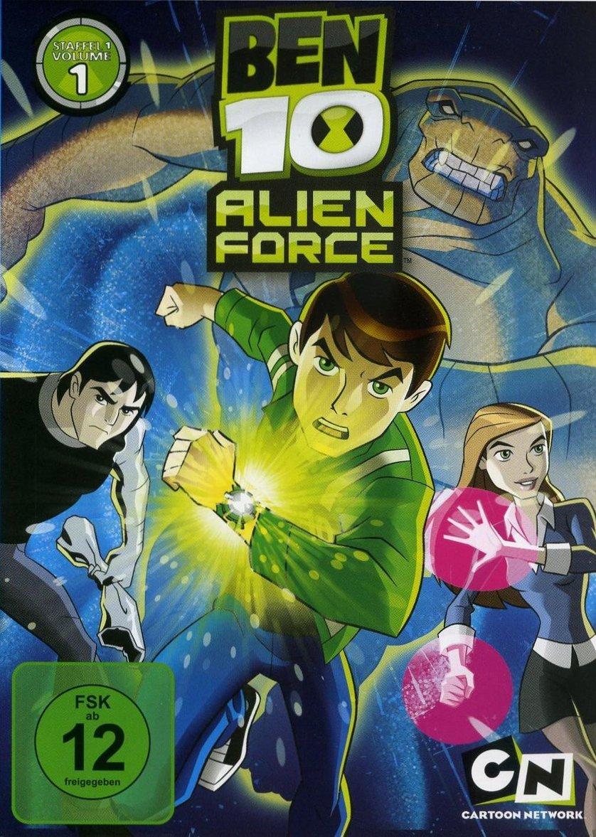 Ben 10: Alien Force - Staffel 1: DVD oder Blu-ray leihen ...