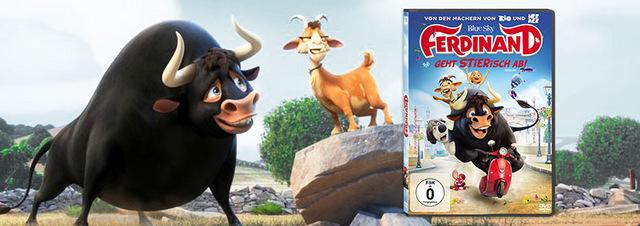 Ferdinand auf DVD, Blu-ray & 4K UHD: Filmheld Ferdinand geht im Frühling STIERisch ab!
