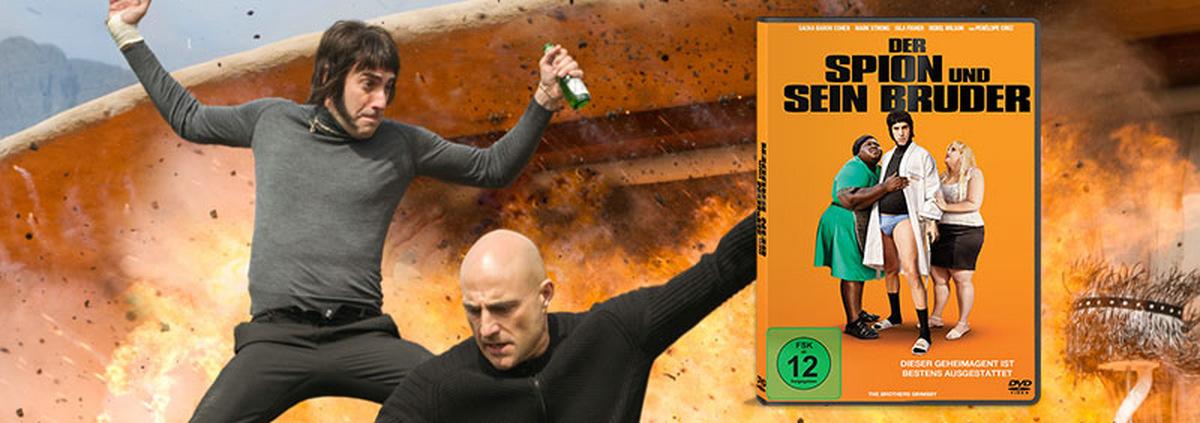 Der Spion und sein Bruder: Sacha Baron Cohens nächster Streich!