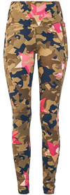 Rock Rebel by EMP Leggings mit Allover- Camouflage- Star Print powered by EMP (Stoffhose)