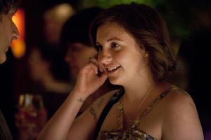 Lena Dunham 2012 in 'Girls' © HBO