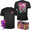 Spider-Man Spider-Man (Black Light) - T-Shirt plus Funko - POP! & Tee powered by EMP (Fanpaket)