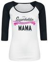 Eine Superheldin ohne Umhang nennt man Mama powered by EMP (T-Shirt)