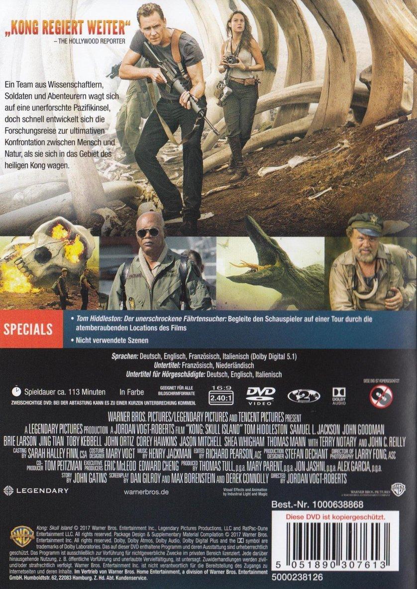 Skull Island Dvd Kaufen